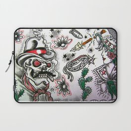 Cowboy Cowgirl Laptop Sleeve