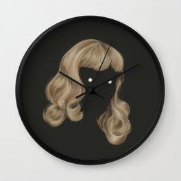 Eyes Wide Wall Clock
