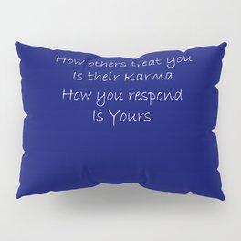Blue Karma Pillow Sham
