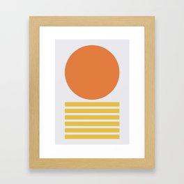 Geometric Form No.5 Framed Art Print