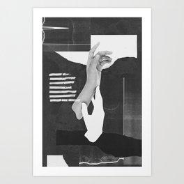Hands 001 Art Print