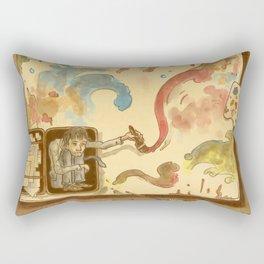 Nights and Weekends Rectangular Pillow