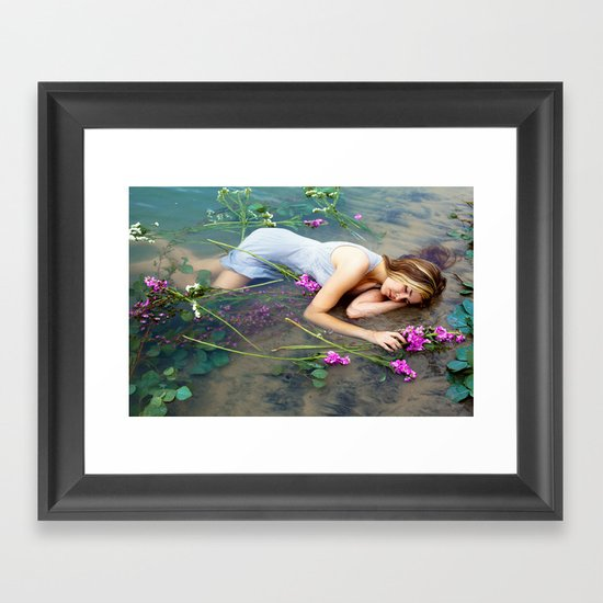Ophelia 2 Framed Art Print