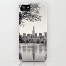 Central Park from Bow's Bridge iPhone Case