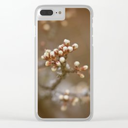 spring is upcoming Clear iPhone Case