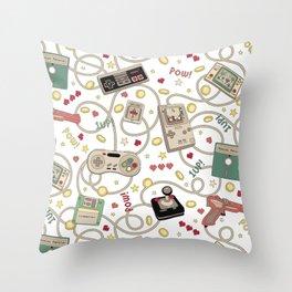 Favourite Game Throw Pillow