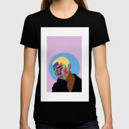 colorful portrait  T-shirt