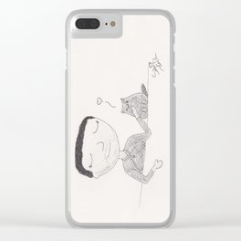 Mr. Tiddles Clear iPhone Case