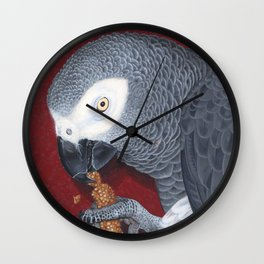 Portrait of Poirot Wall Clock