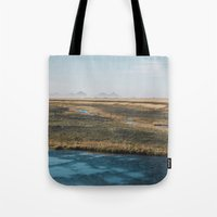 iceland Tote Bags featuring Iceland by Chelle Wootten