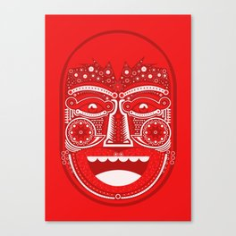 Red Is Mad Canvas Print