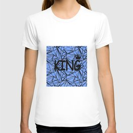 An abstract pattern King . T-shirt