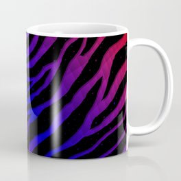 Ripped SpaceTime Stripes - Red/Blue Coffee Mug