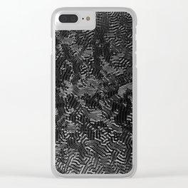 Blak Clear iPhone Case