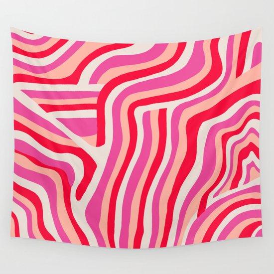 pink zebra stripes by sunshinecanteen