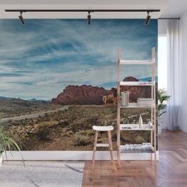 """""""Between Here And There"""" (Valley of Fire; Nevada) Wall Mural"""