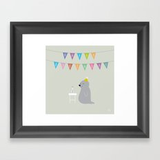The Happy Birthday Framed Art Print