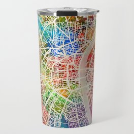 Cologne Germany City Map Travel Mug