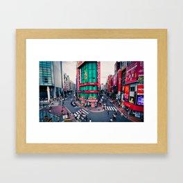 Tokyo Structures Framed Art Print