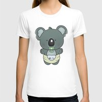 cartoons T-shirts featuring Baby koala by mangulica illustrations