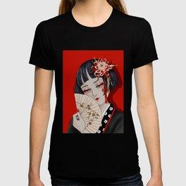 Chrysanthemum Girl T-shirt