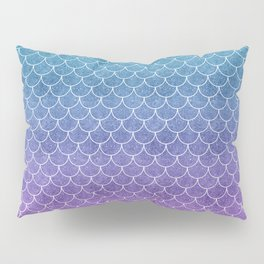 Mermaid Scales in Cotton Candy Pillow Sham