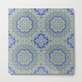 Turkish Floor Tile Metal Print