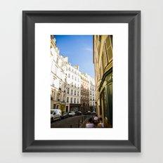 Montmartre series 4 Framed Art Print