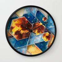 prometheus Wall Clocks featuring :: Prometheus :: by Antonio Holguin