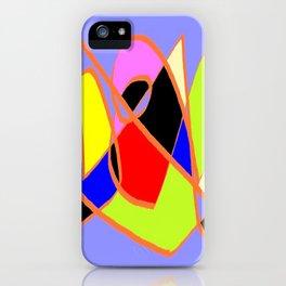 Multicolor blue ign iPhone Case