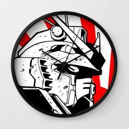 Gundam japan sun Wall Clock
