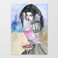 carmilla Canvas Prints featuring Carmilla by ArtOfJamesAdams