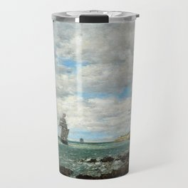Eugène Boudin Coast of Brittany Travel Mug