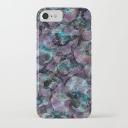 Misty Violets iPhone Case