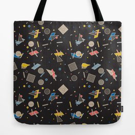 Memphis Inspired Pattern 10 Tote Bag