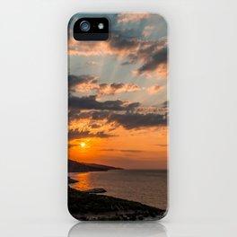 Greek Sunrise iPhone Case