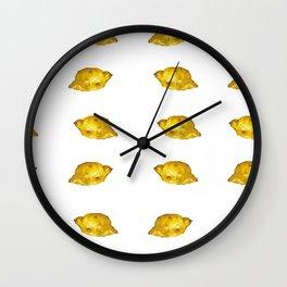 Lemony mood Wall Clock