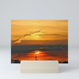 Sunset Horizon Mini Art Print
