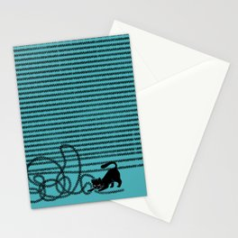Unravel (in Blue) Stationery Cards