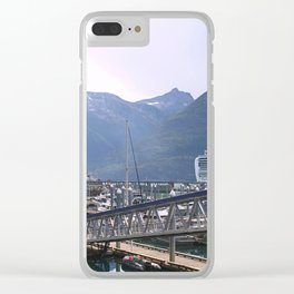 The Tall Ships of Skagway Clear iPhone Case