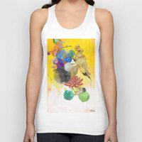archan nair Tank Tops featuring Square Wave Phonetics by Archan Nair