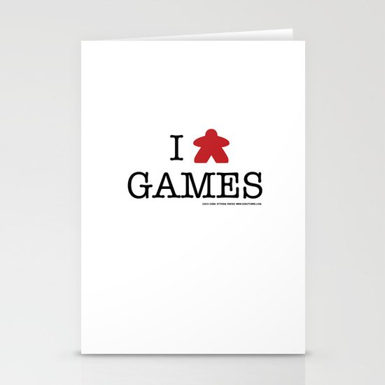 I Meeple Games Stationery Cards
