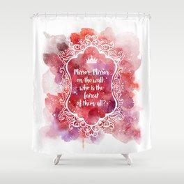 Mirror Mirror Shower Curtain