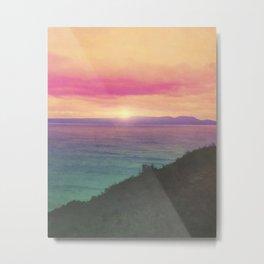 Minimal Landscape 2 Metal Print