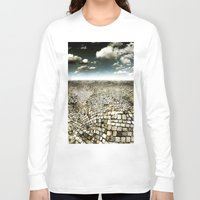 concrete Long Sleeve T-shirts featuring Concrete Mind by Florin