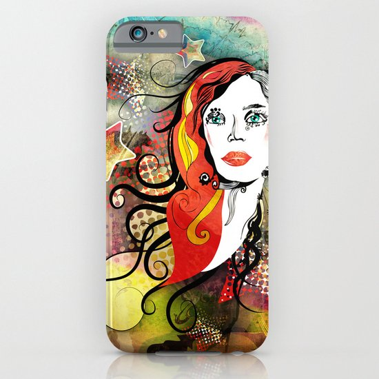 Red Hair iPhone & iPod Case