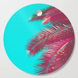 Neon Palm Cutting Board