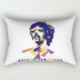 beastie boy Rectangular Pillow