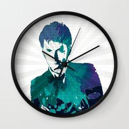 Tenth Doctor Color Splash Wall Clock