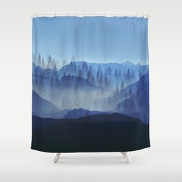 Woods Glory PQ Shower Curtain
